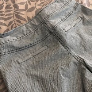 Kenneth Cole Reaction Pants - Striped cotton slacks by Kenneth Cole, Gently Used
